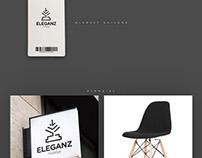 Eleganz Furniture Logo Presentation