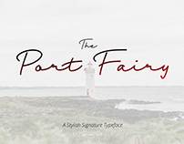 Free Port Fairy Signature Font