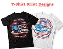 T-Shirt Prints, Freelance Work (February 2016)