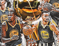 2017 NBA CHAMPION - Golden State Warriors