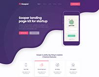 Sooper - Mobile, Desktop, Web App Showcase Template