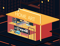 Home Art| motion graphic