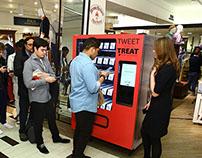 Red Fleece social vending machine
