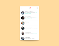 Activity Feed - #DailyUI #047