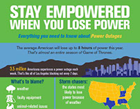 Stay Empowered When You Lose Power — Infographic