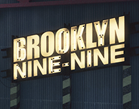 Neon Brooklyn Nine-Nine
