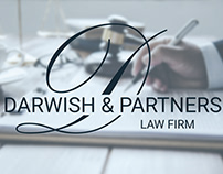 Darwish and Partners logo design and branding