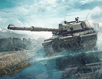 Armored Warfare - Water Challenger