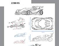 Street Kart design project