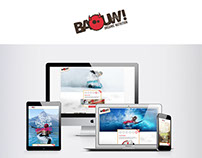 Site e-commerce et vitrine Baouw organic nutrition