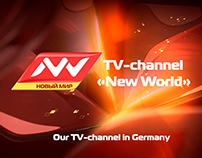 "Presentation for TV channel ""New World"""