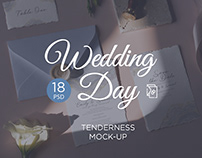 Wedding Day Mock-Up