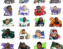 NFL Players - Sports Designs