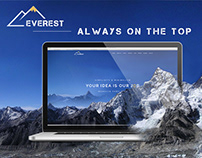 Everest - One Page Creative Agency (Landing Page)