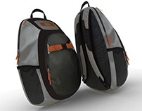 Backpack 3D Product model