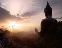 Buddha - Matte Painting
