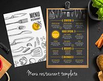 Cafe template design