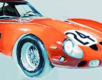 Automotive Digital Paintings