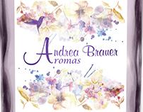 Logotipo Andrea Brauer - Aromas