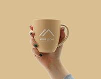 """my home"" logo"