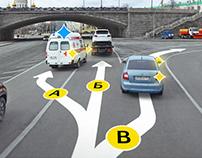 Yandex map | Street view ride (Concept)