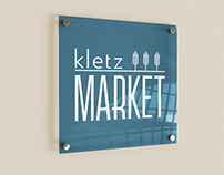 Kletz Market Logo and Mockups