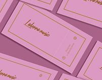 LaDonna music, Tarjetas de visita y logotipo