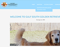 Gulf South Golden Retriever Rescue Website
