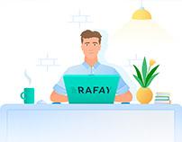 Rafay explainer video / illustrations