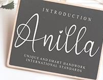 FREE | Anilla Font