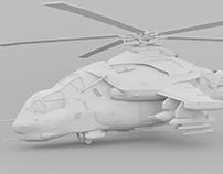 Futuristic Russian Attack Helicopter (Mi-27R)