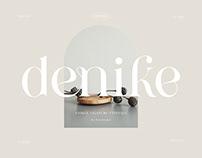 Denike    Stylish Modern Serif