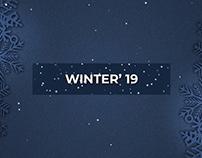 Illyeen Winter Promo Motion Graphics | Msu Rubel