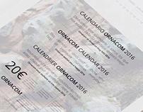 Diseño Calendario 2016 Ornacom