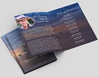Free Funeral Program Brochure Template