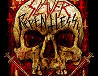 Slayer - Eugene, Oregon Event Poster