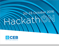 CEB Hackathon Banners and Posters