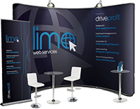 Trade Show Booth : Limo Web Services (DriveProfit)
