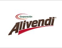 Papeleria y Logotipo: Corporación Alivendi