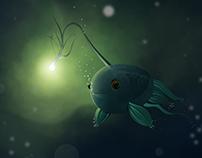 O PEIXE SOLITÁRIO (the lonely fish)