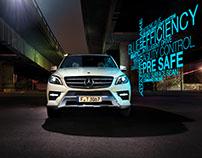 Mercedes-Benz, Typo on location