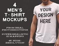 Men's T-Shirt Mockups