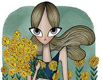 Michael Kors fashion illustration