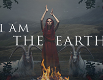 I Am The Earth (Photomontage | Digital Art)