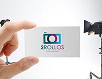 Logo 2Rollos | Por Sebastian Marín®