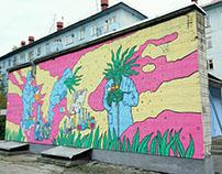 My 1st mural