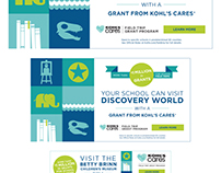 Kohl's Cares Field Trips | Banner Ads