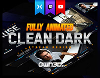 Animated Modern Clean Dark Stream Design