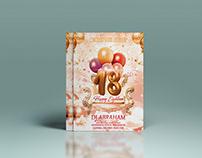 Birthday Party Flyer
