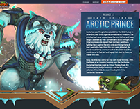 OMD!U: Arctic Prince Patch Release Website
